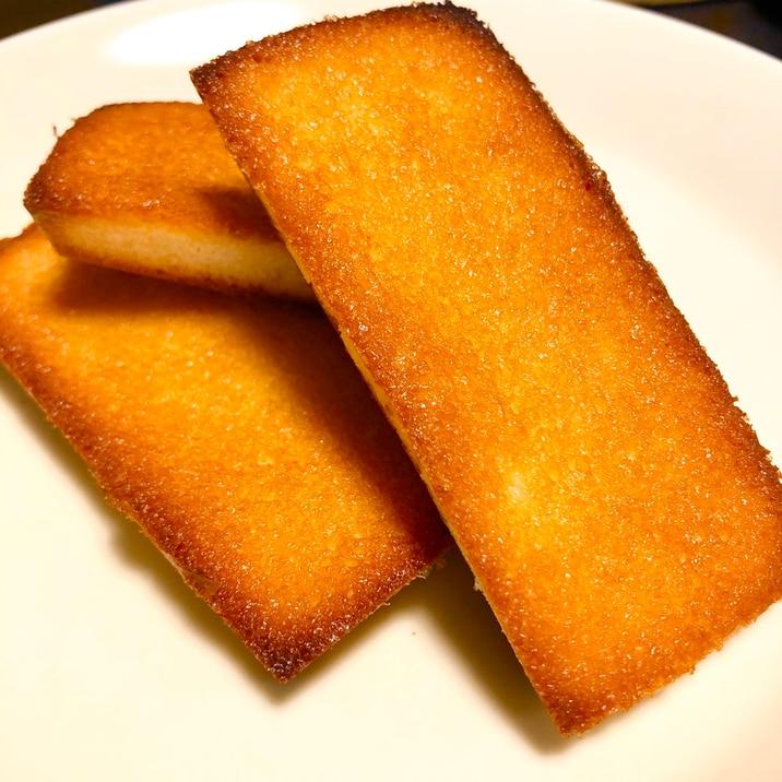 HMで作れる!簡単バターフィナンシェ☆