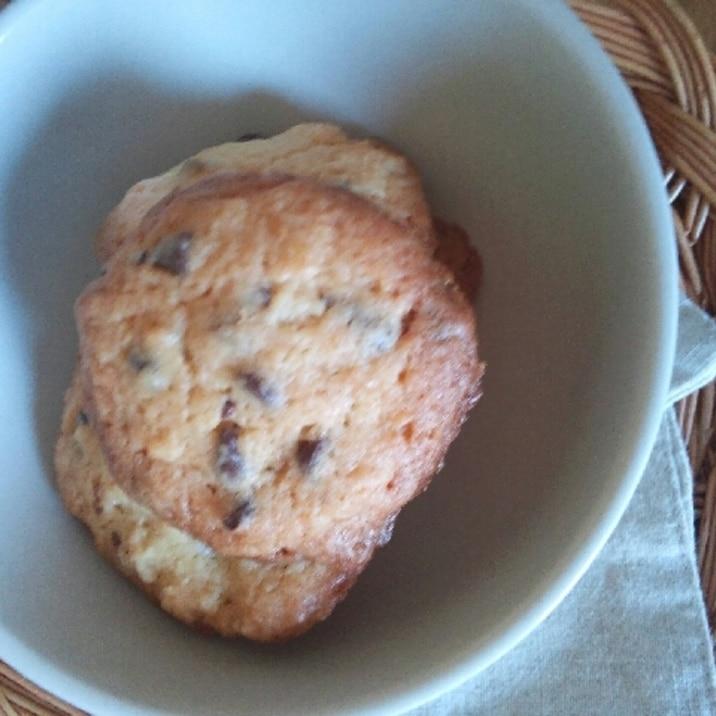 ヘルシー?ザッザクチョコチップクッキー