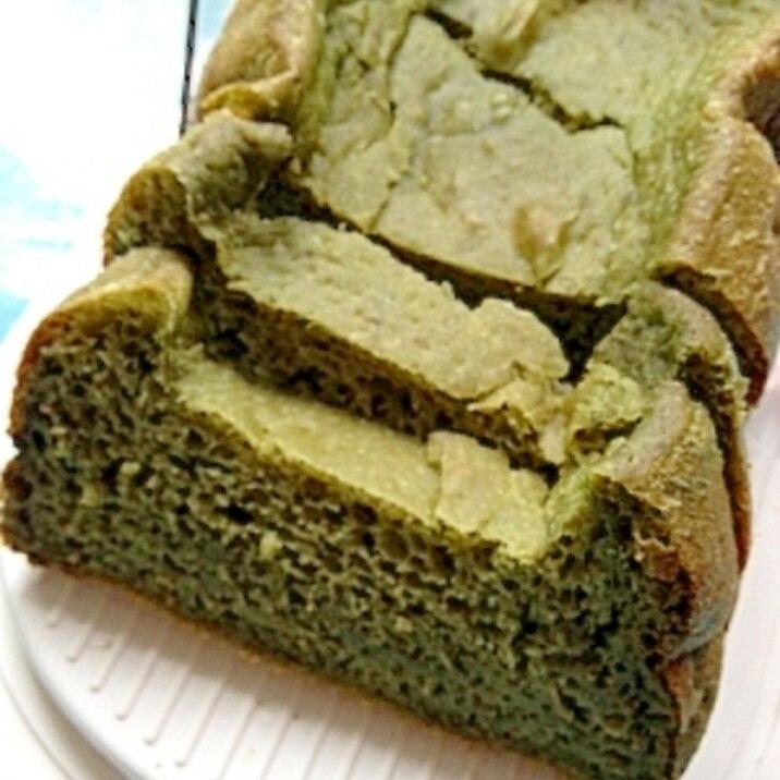 ホームベーカリーでスピルリナバジルご飯食パン♪