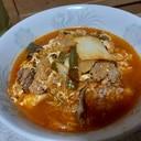 牛肉とキムチのスープ