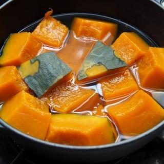 簡単!煮崩れナシ!はちみつ使用のかぼちゃの含め煮