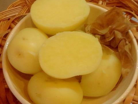 ジャガイモ皮むき(下拵え)【電気圧力鍋】加圧5分