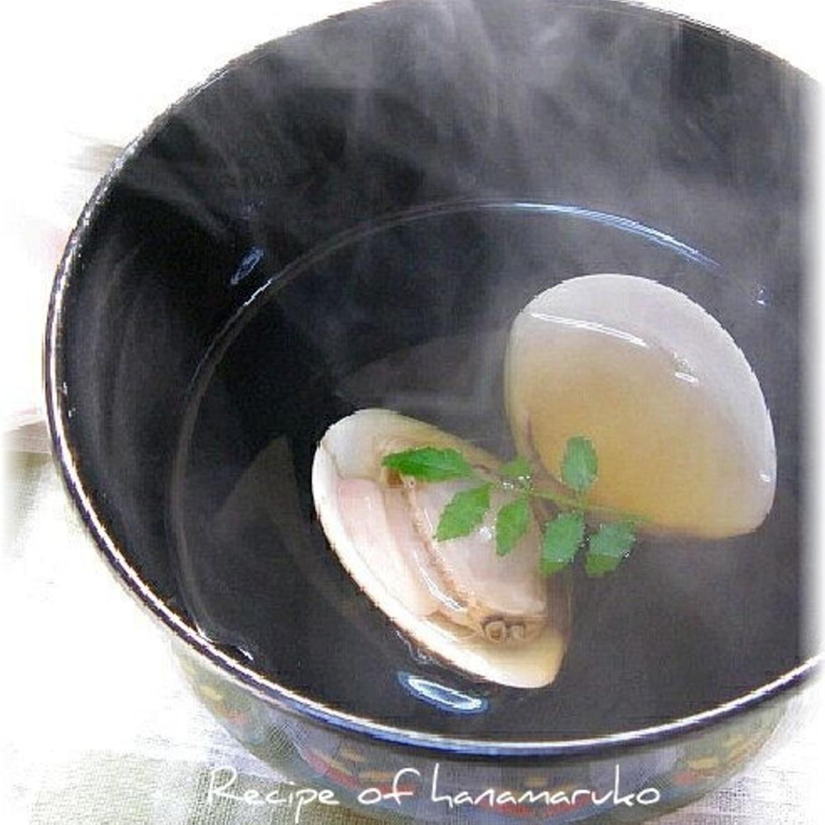 ハマグリ 潮汁