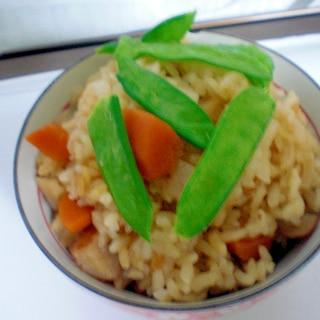 筍の五目炊き込みご飯