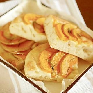 バターナッツかぼちゃのフォカッチャ