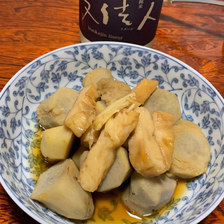 笹かまと里芋の煮物