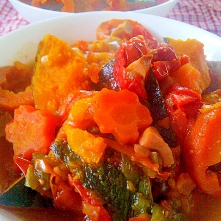 スロークッカーで野菜の甘みあるラタトゥイユ