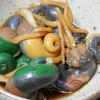 サザエの捌き方&「肝の生姜醤油煮」