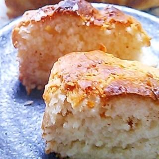 卵不使用でカステラ風味なココナッツケーキ