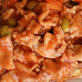 ご飯が進む!豚バラ肉のチリソース炒め