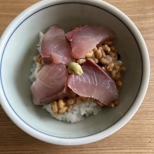 ぶり納豆丼