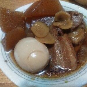 豚ロースブロック使用☆圧力鍋で柔らか角煮