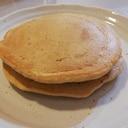 卵なし 豆乳で全粒粉ホットケーキ