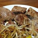 牛もも肉の3口ステーキ