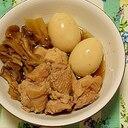 炊飯器で味が染みる♡鶏とまいたけの煮物