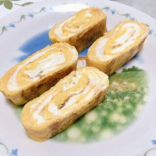明太クリームチーズの卵焼き