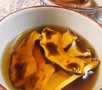 焼きエリンギとかぼちゃのすまし汁