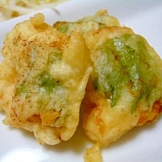 鶏胸肉の天ぷら