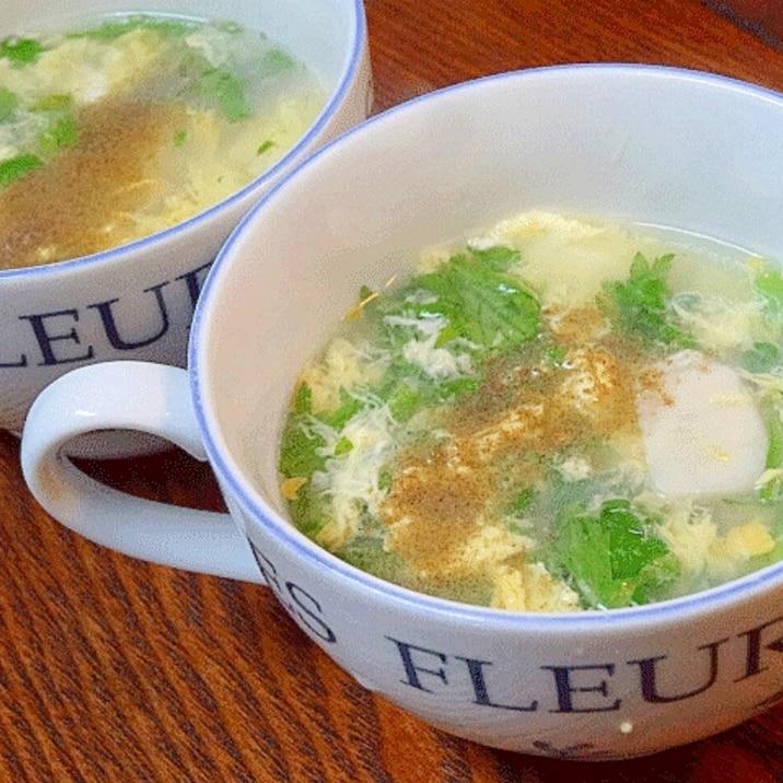 速攻3分! 中華風「ホタテ卵スープ」