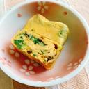 高菜*ネギ*塩昆布の卵焼き