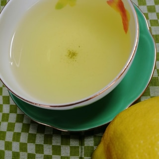 レモン緑茶