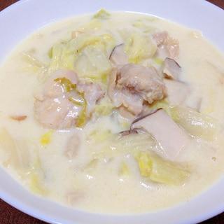 白菜消費☆鶏肉と白菜のクリーム煮