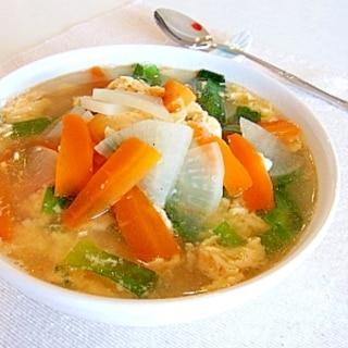 ひとりごはん✿野菜クッパ