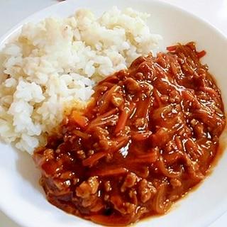 豚挽き肉で ☆ ハッシュドポーク