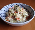 白菜と人参のツナマヨサラダ