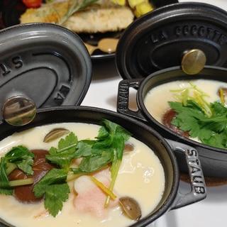 ストウブDe〜茶碗蒸し(11cm&ココット)