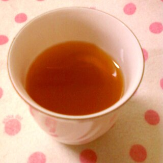 ☆*:・☆蜂蜜漬けレモン入り柚子湯紅茶☆*:・☆