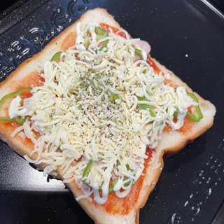 超簡単っ♪食パンでピザトースト★