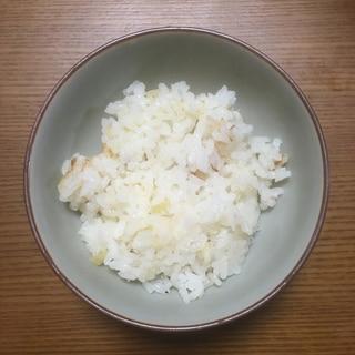 真鯛の頭・中骨で炊き込みご飯