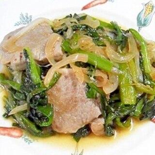 豚ヒレ肉とにらの炒め物