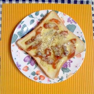 干し柿のチーズトースト♪