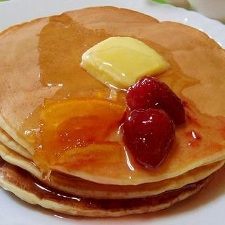 しっとり!簡単★パンケーキ