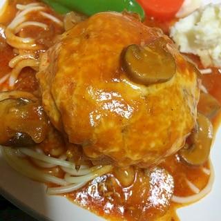 アメリカンチェダーチーズハンバーグ