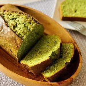 抹茶のパウンドケーキ٭有機宇治抹茶使用♡20㎝型