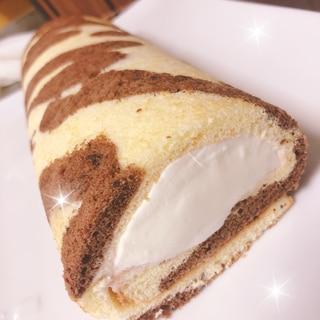 お絵描きロールケーキ