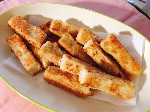 高野豆腐のスティックフライ