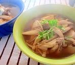 3種のきのこと豆腐の和風スープ
