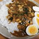 圧力鍋で豆カレー