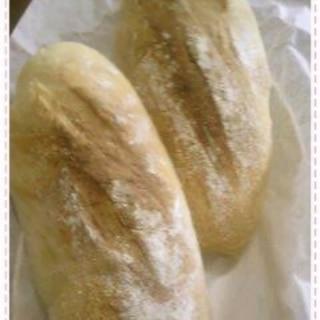 捏ねない 袋で1分もんで冷蔵発酵 フランスパン