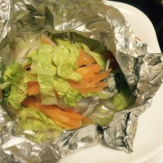 野菜たっぷり!鱈のホイル焼き
