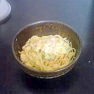 卵がおいしい☆サラスパサラダ