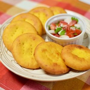 チリのカボチャ入り揚げパン*ソパイピージャ
