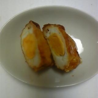 卵のアゲ包み煮