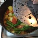 洋風インゲンとジャガイモのトマト煮