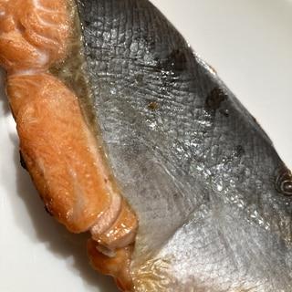 銀鮭のさっぱりとした塩焼き!離乳食用