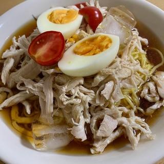 糖質ゼロ麺で冷麺
